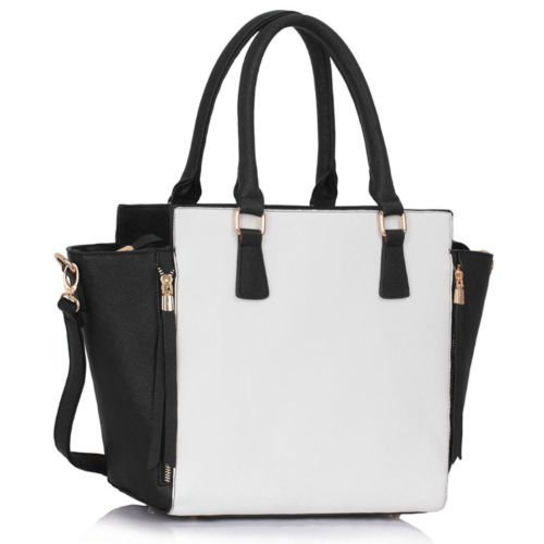be2957ca35 ... Womens Large Designer Handbags Tote Shoulder Faux Leather Fashion Bags.  Sale!