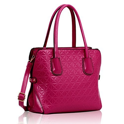 Womens Handbags Ladies Designer Tote Bag Celebrity Faux Leather Shoulder Fashion
