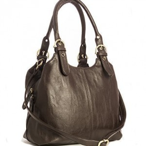 Big-Handbag-Shop-Womens-Medium-Size-Plain-Shoulder-Bag-with-a-Long-Strap-0