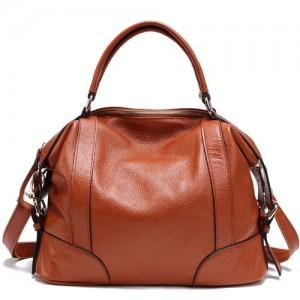 TOP-BAG-Lovely-Women-Ladies-Genuine-Leather-Tote-Satchel-Shoulder-Handbag-SF1006-0
