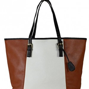 Womens-Ladies-Leather-Style-Large-Tote-Bag-Shoulder-Handbag-0