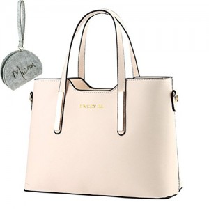 Micom-Simple-Euro-Style-Pure-Color-Pu-Leather-Tote-Shoulder-Handbag-for-Zip-Pouch-Women-Bag-0